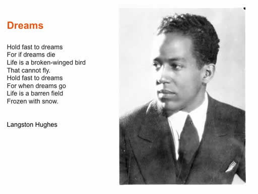 "poetic devices in mother to son by langston hughes essay Free essay: ""mother to son,"" written by langston hughes, is a short poem about a mother who is teaching her son about perseverance and determination by using."